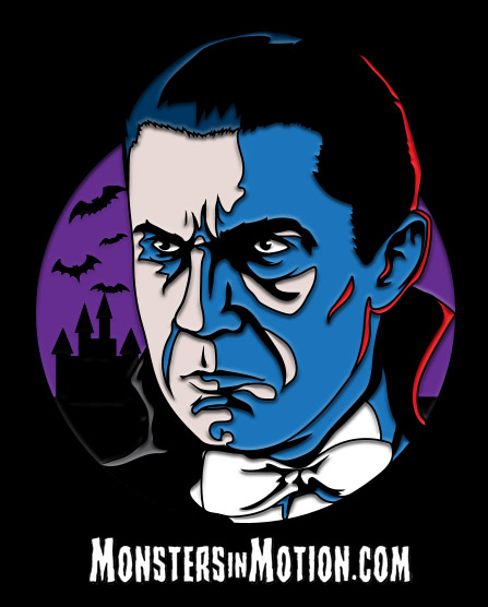 Dracula Bela Lugosi Enamel Pin Universal Monsters