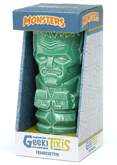 Frankenstein 18 oz. Universal Monsters Geeki Tiki Mug