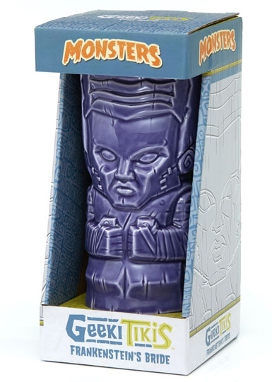 Frankenstein Bride of Frankenstein 20 oz. Universal Monsters Geeki Tiki Mug