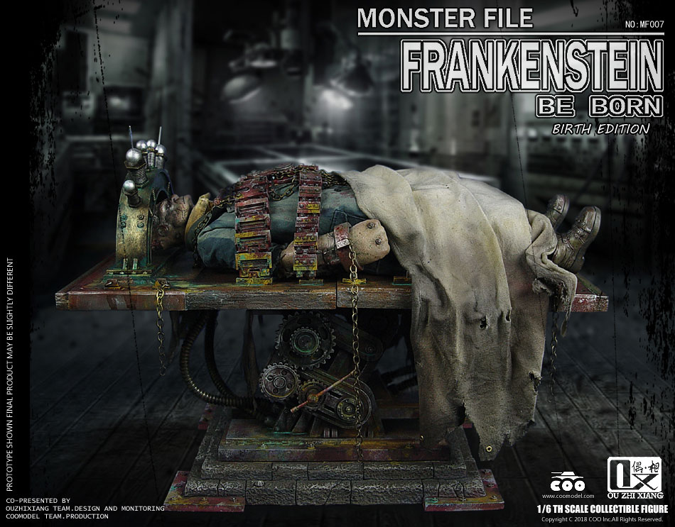 Frankenstein Monster File Series Birth Edition 1/6 Scale Figure by CooModel