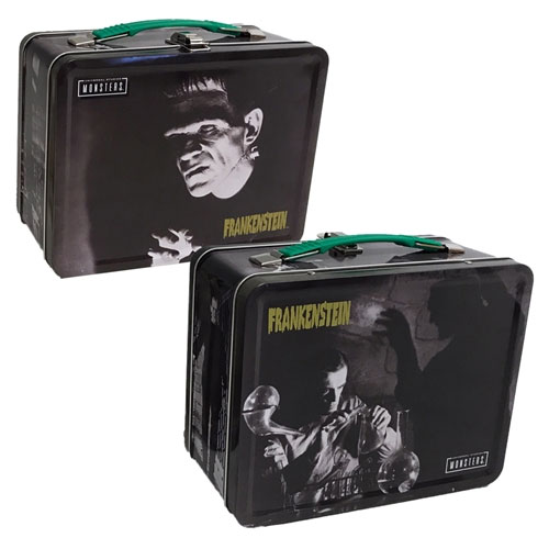 Frankenstein Boris Karloff Tin Tote Lunch Box