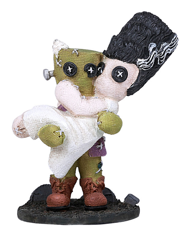 Frankenstein Frankie And The Bride Button Eye Figure