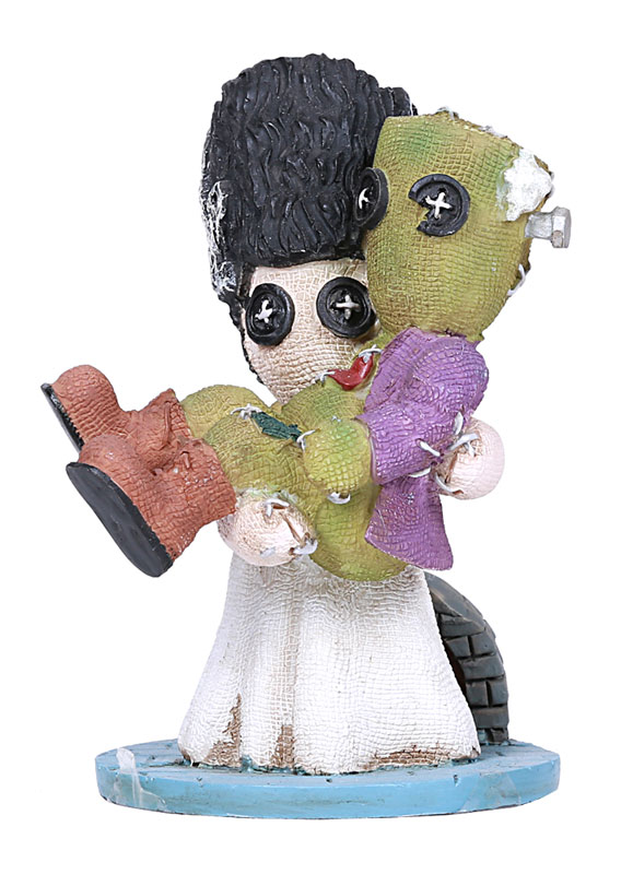 Frankenstein The Bride And Frankie Button Eye Figure