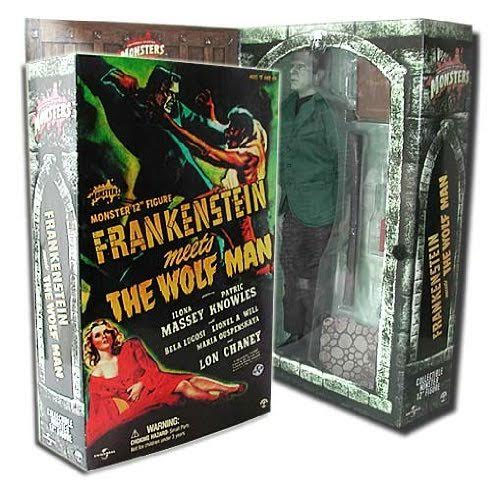 "Frankenstein Meets The Wolfman Bela Lugosi 12"" Figure Sideshow MINT IN BOX"