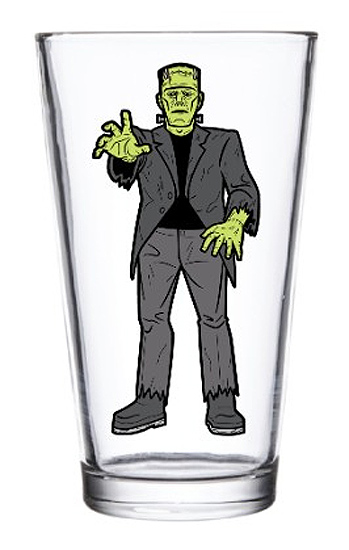 Frankenstein Universal Monsters Pint Glass