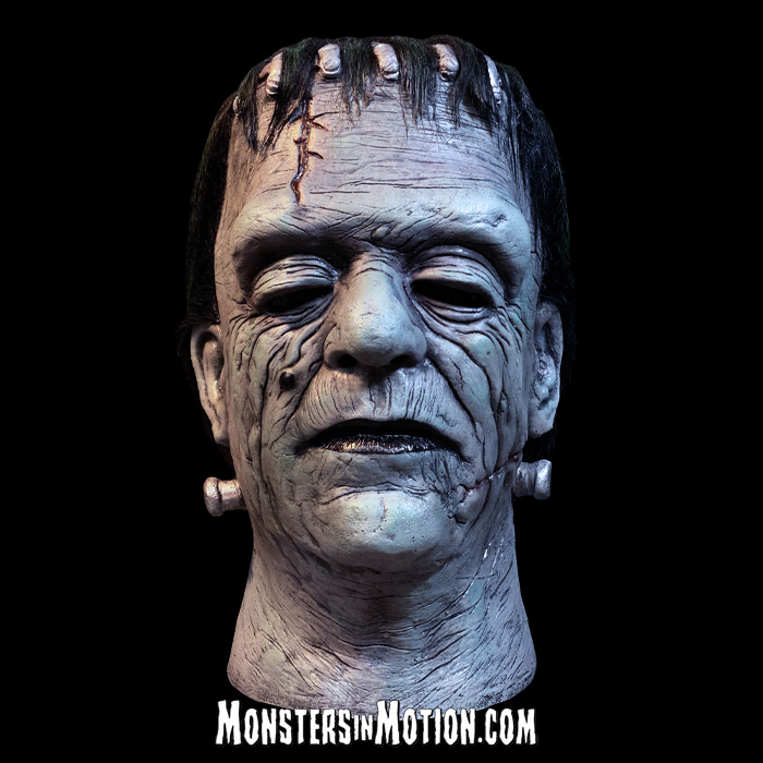 Frankenstein House Of Frankenstein Glenn Strange Deluxe Latex Mask Universal Studios Monsters