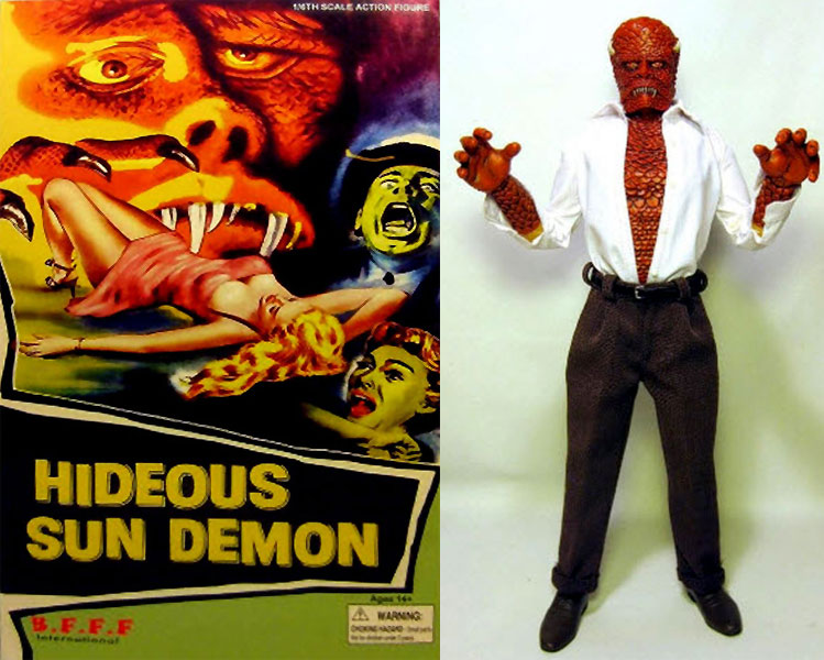 Hideous Sun Demon 1/6 Scale Action Figure