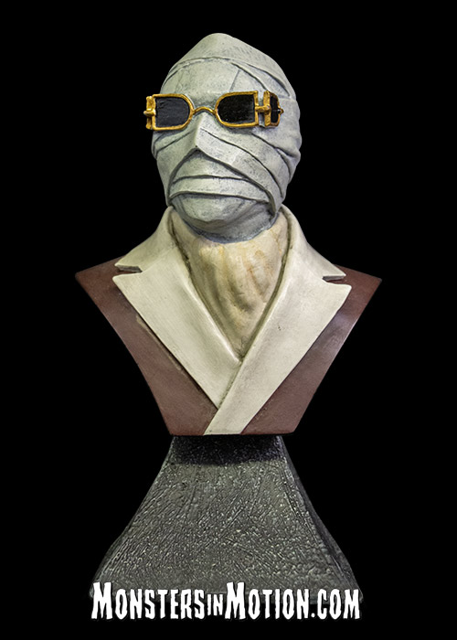 Invisible Man Mini Bust Claude Rains