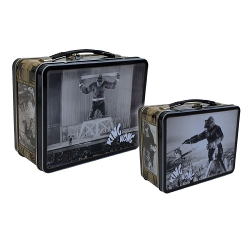 King Kong The 8th Wonder Tin Tote Lunch Box