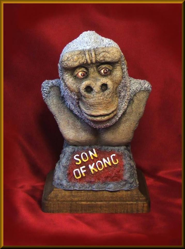 Son Of Kong Legends of Stop Motion Bust Model Kit by Mick Wood