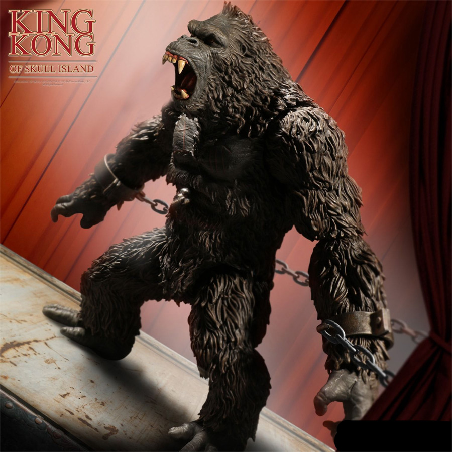 "King Kong Of Skull Island 7"" Figure by Mezco"