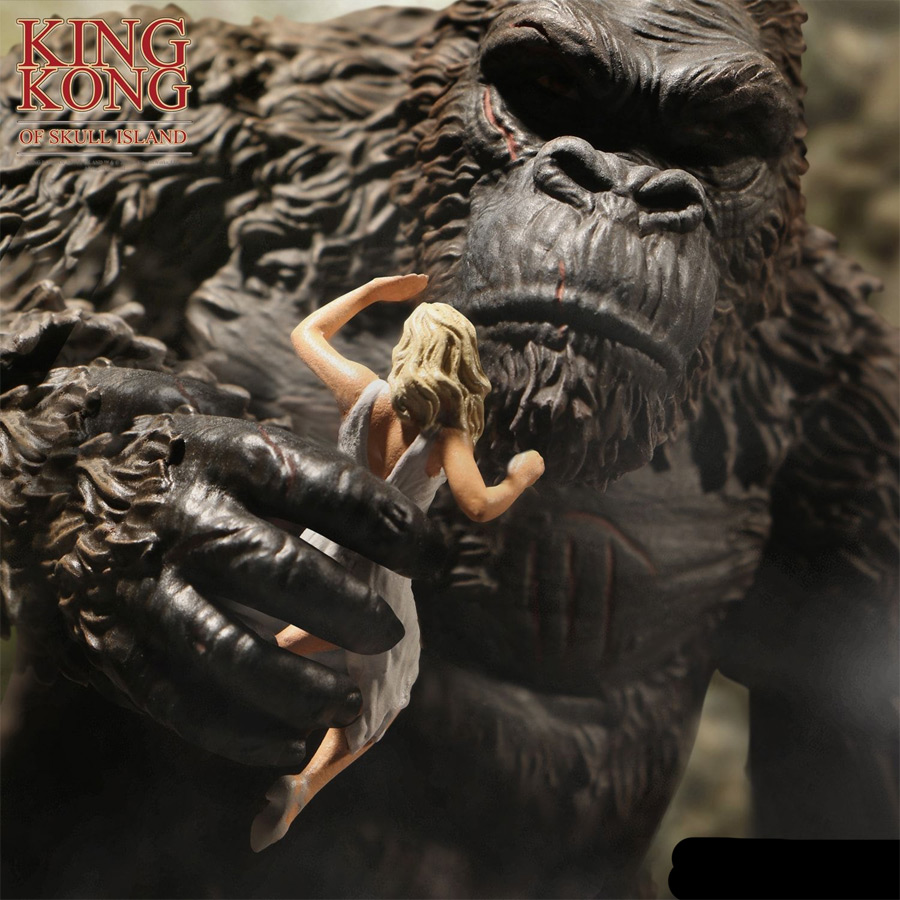 "King Kong Of Skull Island 7"" Figure by Mezco - Click Image to Close"