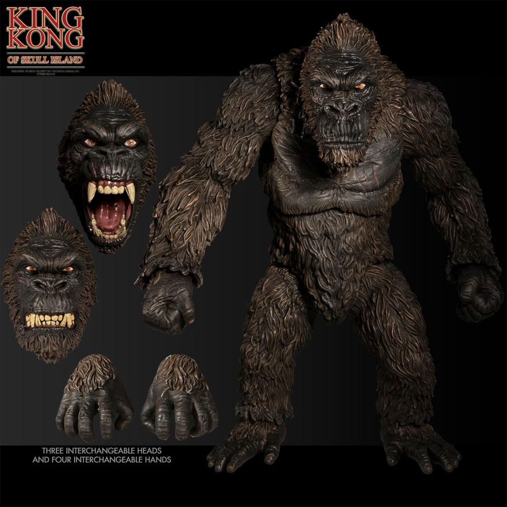 "King Kong Skull Island 18"" Tall Figure by Mezco"
