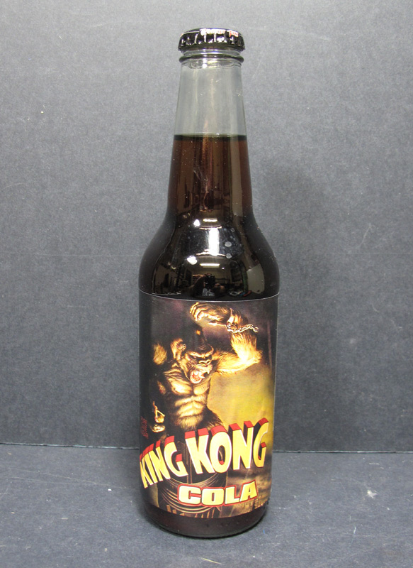 King Kong Cola Rare Soda Bottle (Full)