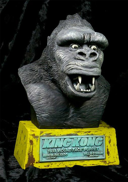King Kong 1933 Round Face Resin Busts Model Kit