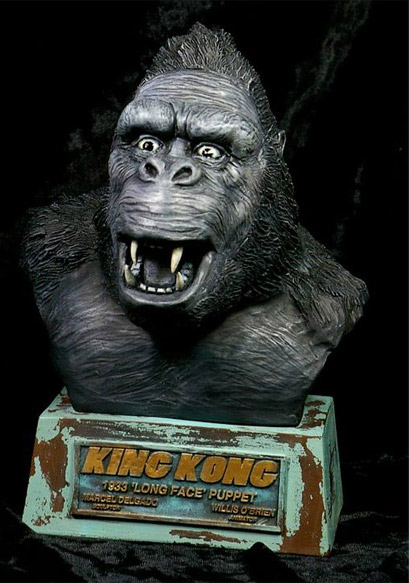 King Kong 1933 Long Face Resin Busts Model Kit