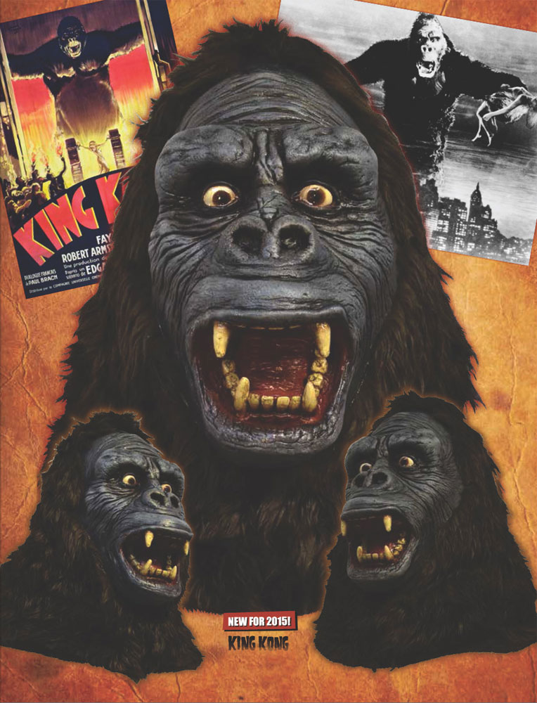 King Kong 1933 Latex Halloween Mask