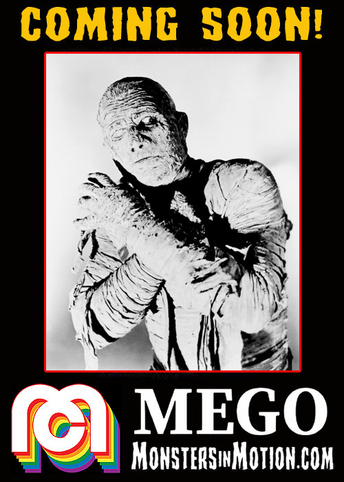 Mummy 8 Inch Mego Action Figure Universal Monsters Lon Chaney