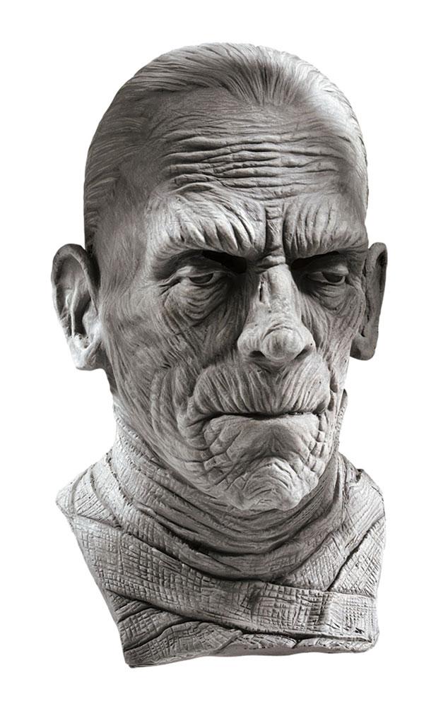 Mummy Boris Karloff Universal Monsters Latex Collector's Mask