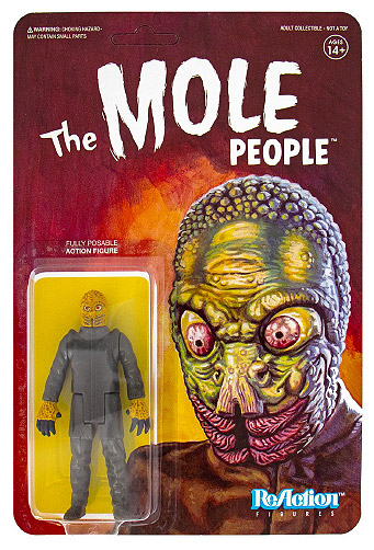 "Mole People Mole Man 3.75"" ReAction Figure Universal Monsters Series"