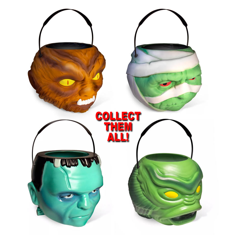 Mummy Universal Monsters Superbucket Halloween Bucket Mummy Universal Monsters Superbucket Halloween Bucket 05msu04 19 99 Monsters In Motion Movie Tv Collectibles Model Hobby Kits Action Figures Monsters In Motion