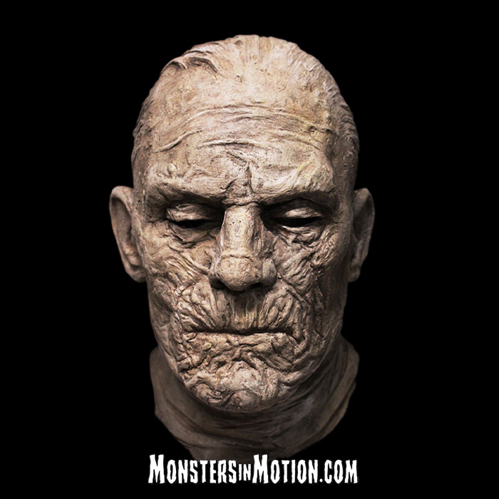 Mummy 1932 Imhotep Boris Karloff Deluxe Latex Mask Universal Studios Monsters