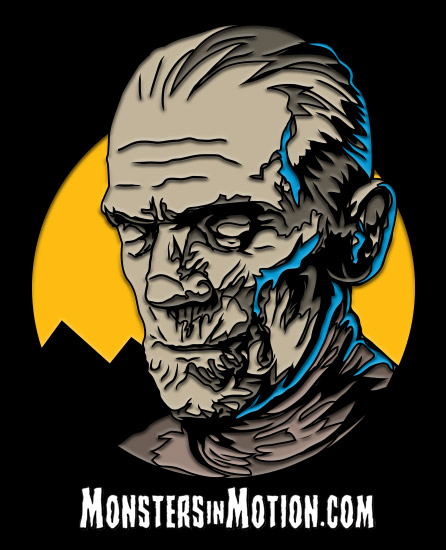 Mummy Imhotep Enamel Pin Universal Monsters