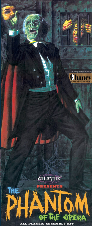 Phantom Of The Opera Lon Chaney 1963 Aurora Re-issue Model Kit by Atlantis