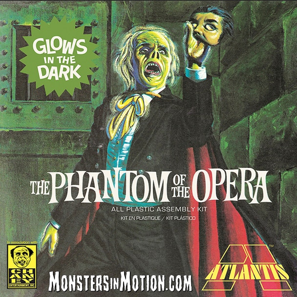 Phantom of the Opera Glow in the Dark Edition 1/8 Scale Aurora Re-Issue Model Kit