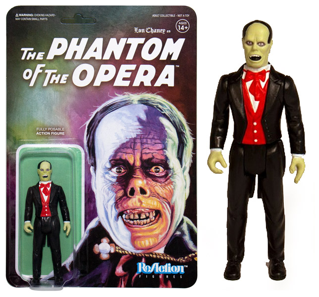 "Phantom Of The Opera Universal Monsters 3.75"" ReAction Action Figure"