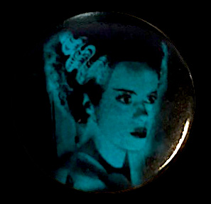 Bride of Frankenstein Monster Button