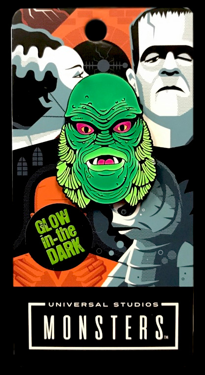 Creature from the Black Lagoon Enamel Pin (Glow In The Dark)