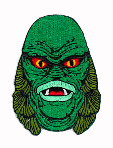 "Creature From The Black Lagoon 3"" Cloth Patch"