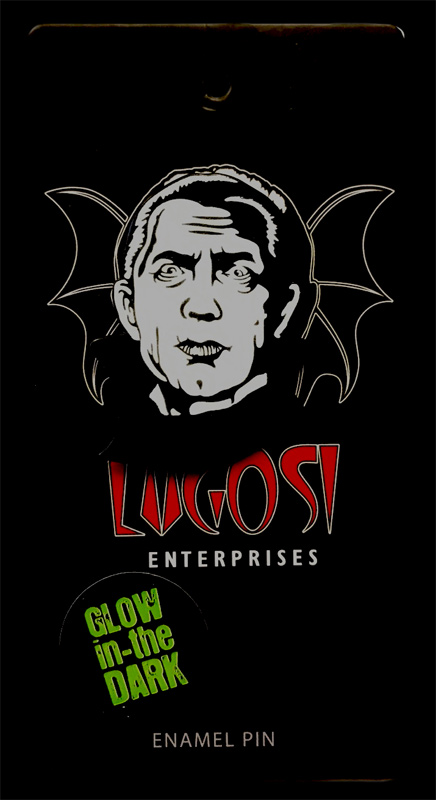 Dracula Bela Lugosi Enamel Pin (Glow In The Dark)