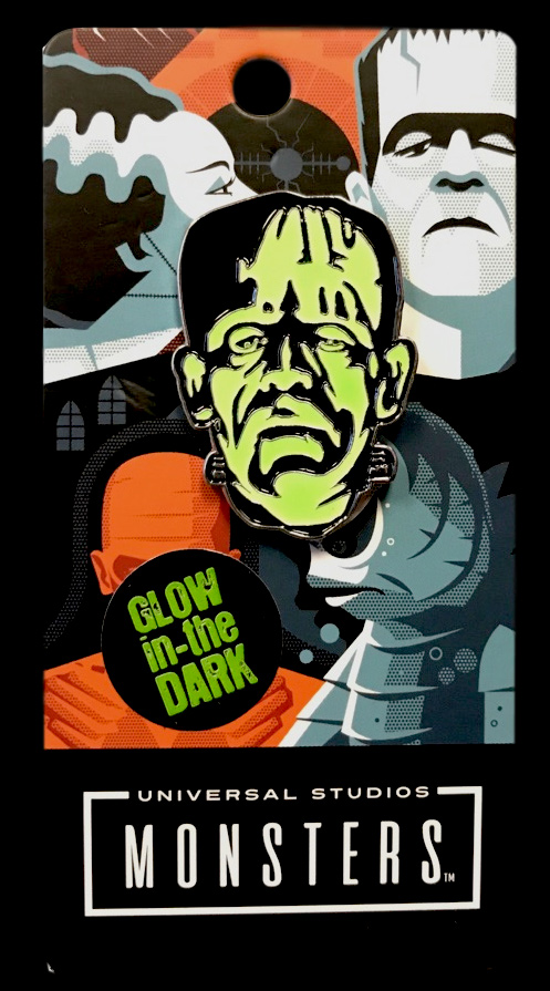 Frankenstein Enamel Pin Boris Karloff (Glow In The Dark)