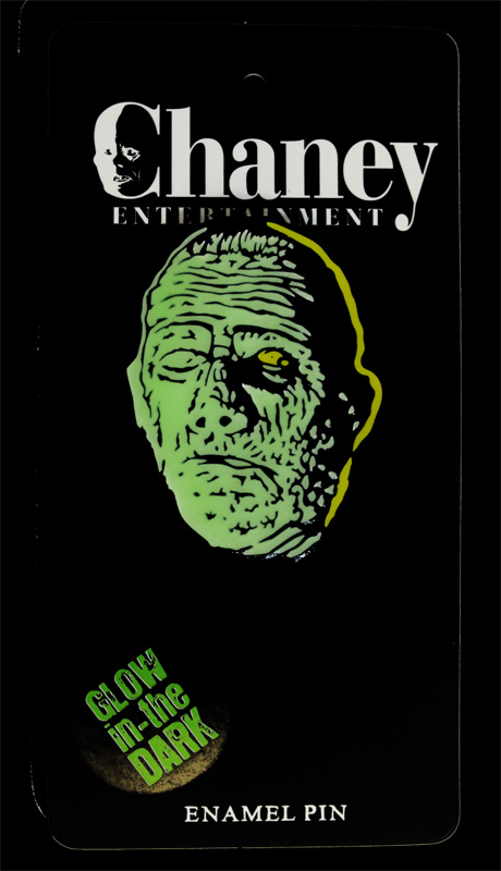 Mummy Lon Chaney Enamel Pin (Glow In The Dark)