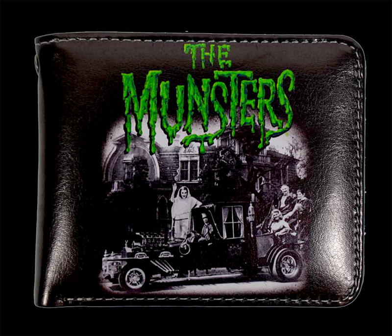 Munsters Family Coach Billfold Wallet