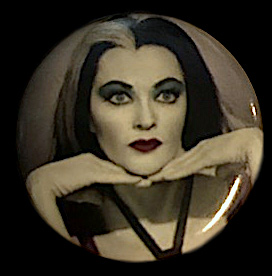 Munsters Lily Munster Monster Button