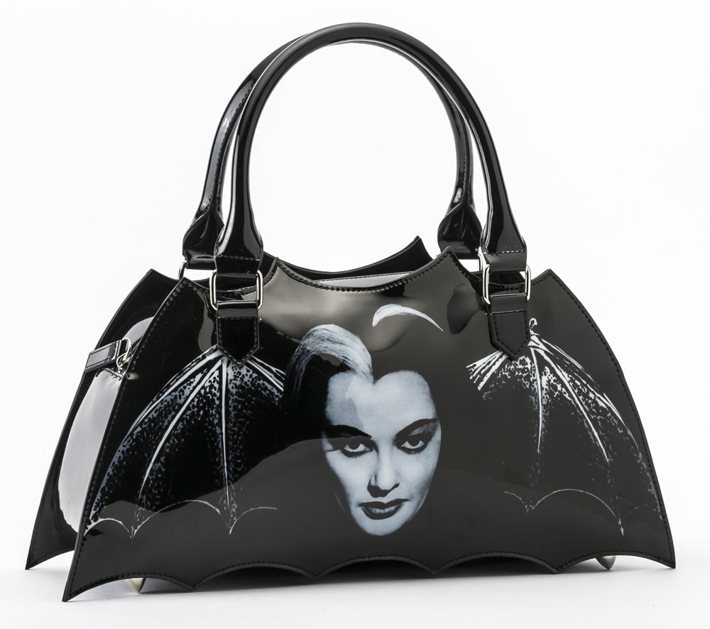 Munsters Lily Munster Bat Shaped Handbag Purse