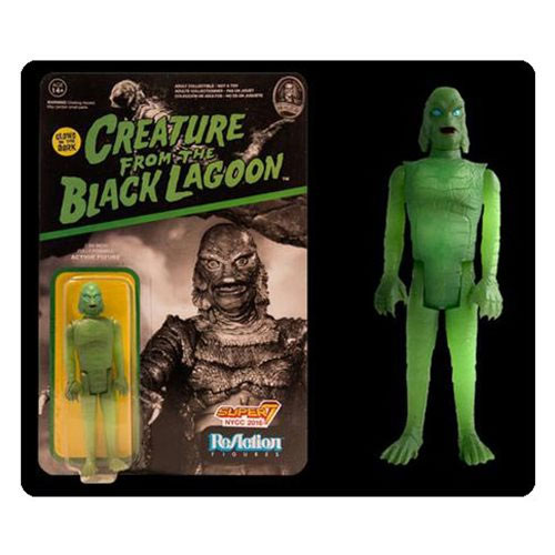 Creature From The Black Lagoon Glow-in-the-Dark ReAction Figure NYCC Exclusive