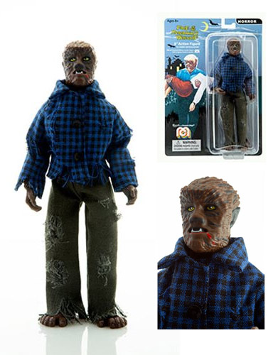 "Wolfman Wolf Man 8"" Action Figure by Mego"