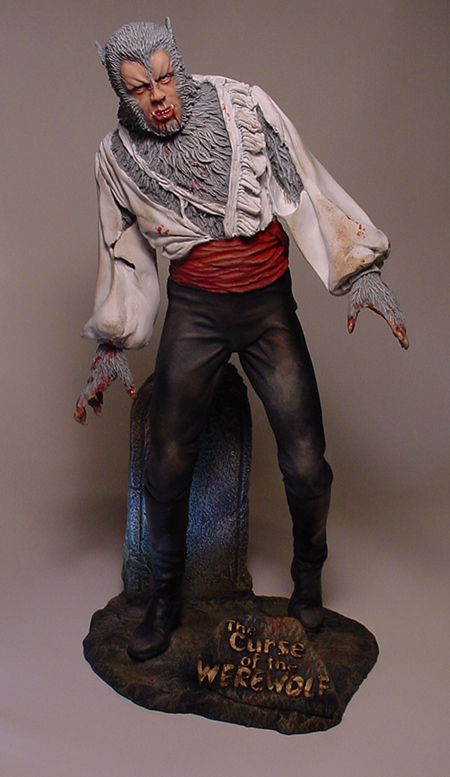 Curse Of The Werewolf 1/6 Scale Model Kit