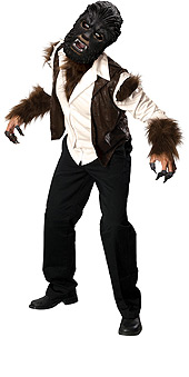 The Wolfman: Adult Deluxe Costume Standard Size