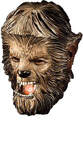 The Wolfman: Overhead Deluxe Latex Adult Mask