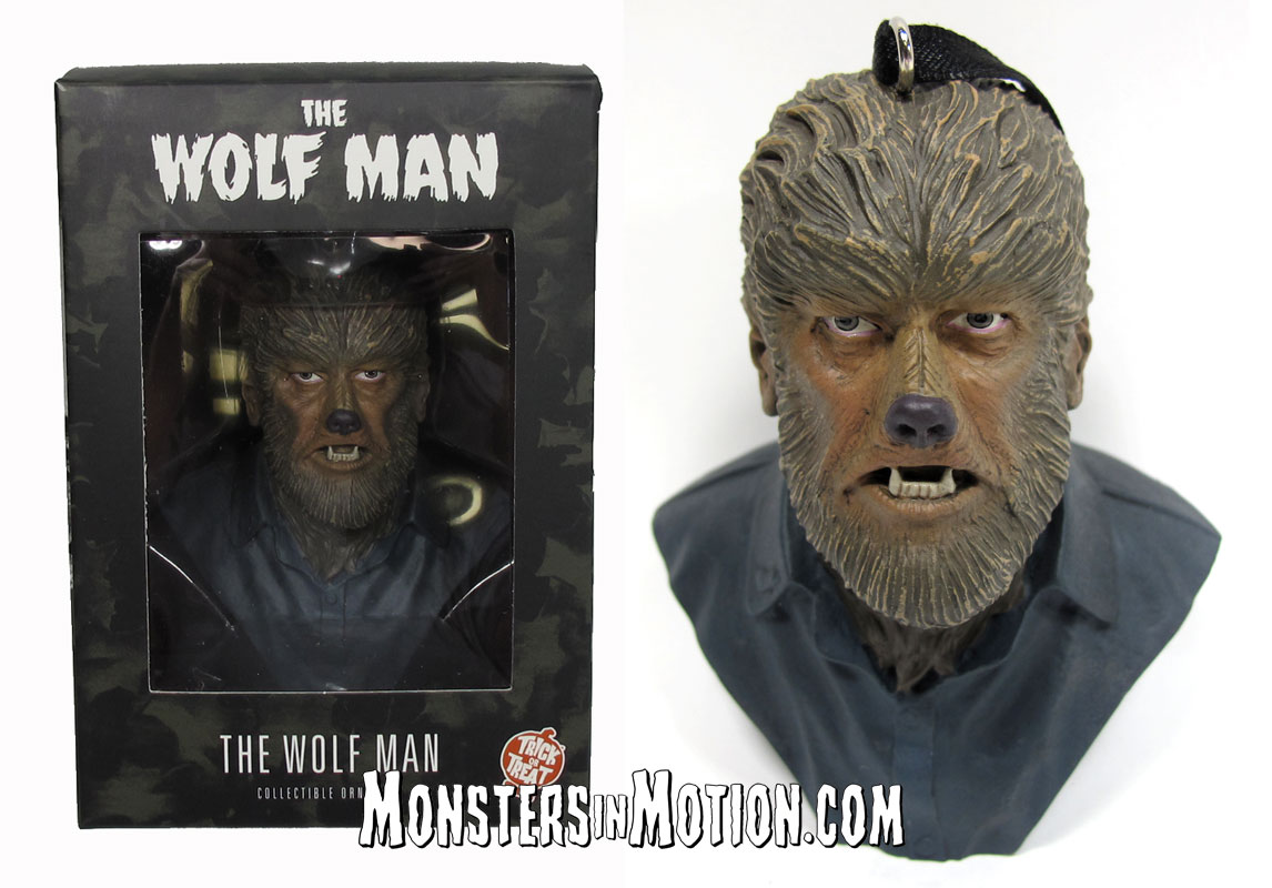Wolfman Lon Chaney Holiday Horrors Ornament