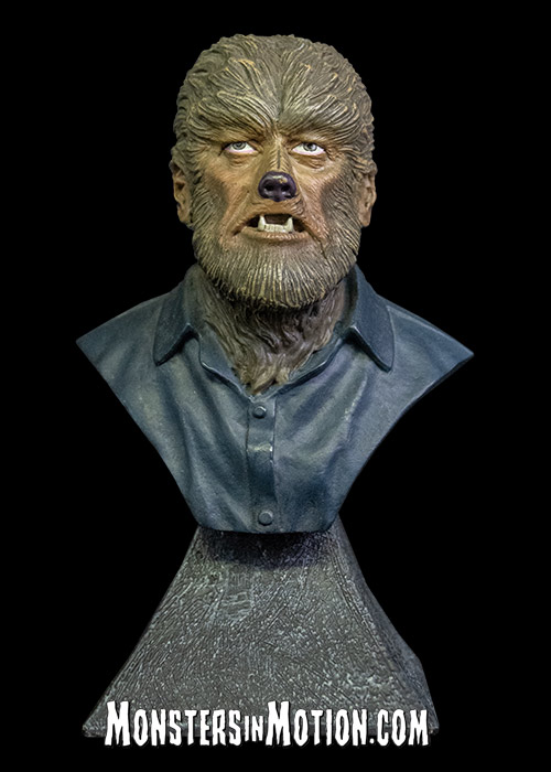 Wolfman Mini Bust Lon Chaney