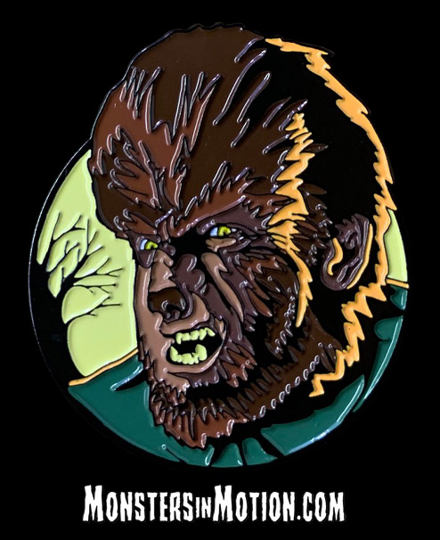 Wolfman Enamel Pin Universal Monsters Wolf Man