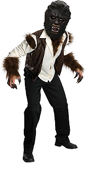 The Wolfman: Deluxe Child Costume Large