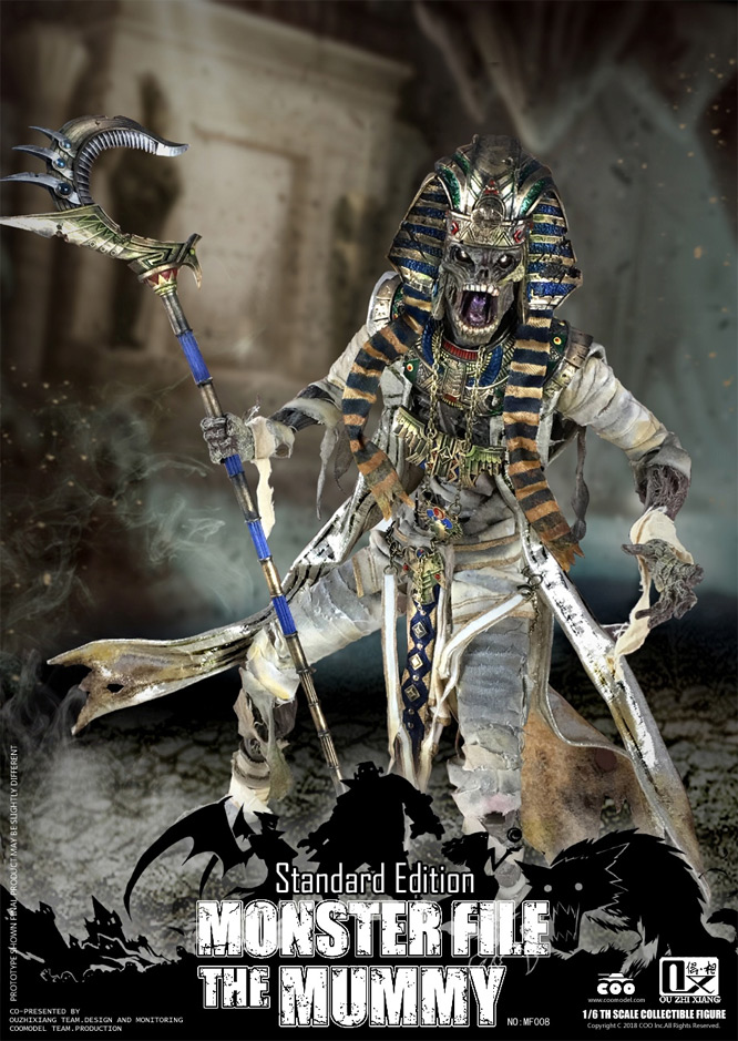 Mummy Monster File Standard Edition 1/6 Scale Figure by Coo Model
