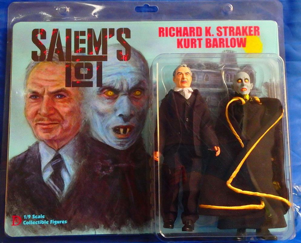 Salem S Lot Barlow Vampire And Straker 8 Retro Mego Figure